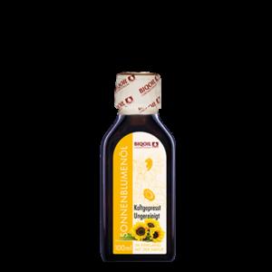 Sonnenblumenöl kaltgepresst BIO 100 ml