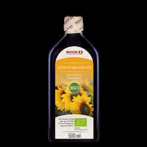 Sonnenblumenöl kaltgepresst BIO 500 ml